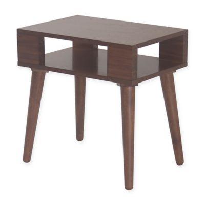 INK+IVY® Jayce Mid Century Wood End Table in Pecan