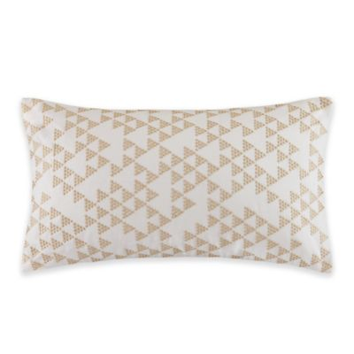 Gold Cotton Pillow Cover