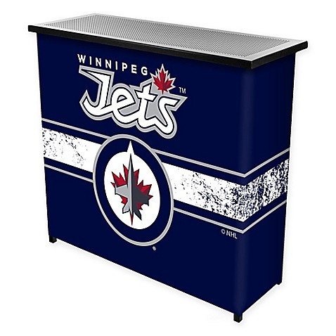 Buy Nhl Winnipeg Jets Portable Bar With Case From Bed Bath Beyond