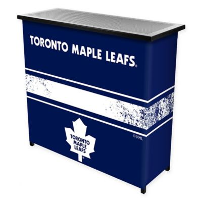 NHL Toronto Maple Leafs Portable Bar with Case