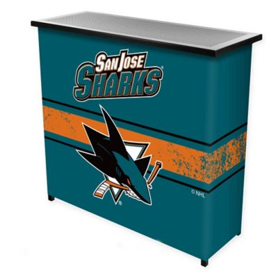 NHL San Jose Sharks Portable Bar with Case