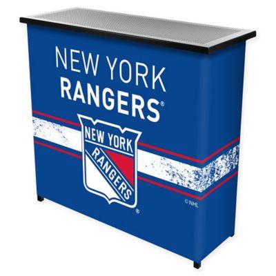 NHL New York Rangers Portable Bar with Case
