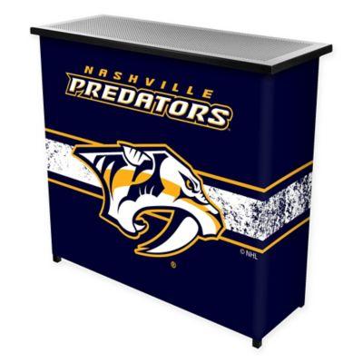 NHL Nashville Predators Portable Bar with Case