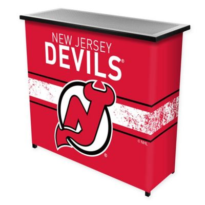 NHL New Jersey Devils Portable Bar with Case