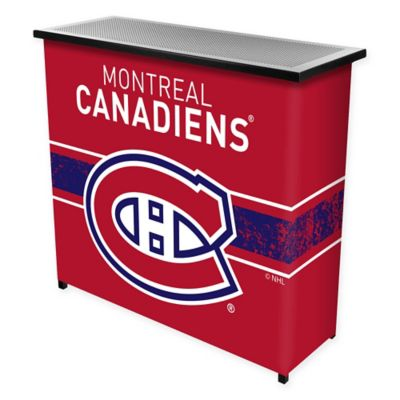 NHL Montreal Canadiens Portable Bar with Case