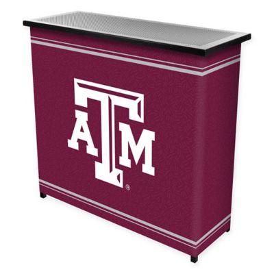 NCAA Texas A&M University Portable Bar with Case