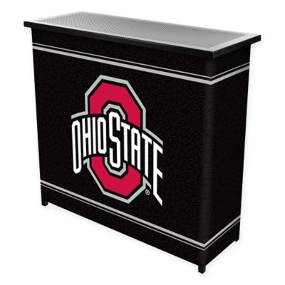 NCAA Ohio State University Portable Bar with Case