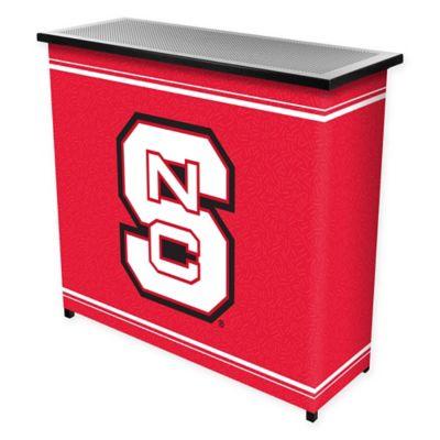 NCAA North Carolina State University Portable Bar with Case