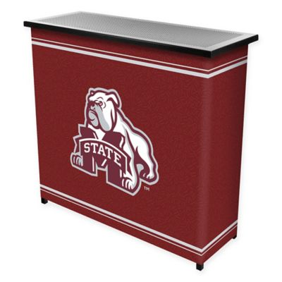NCAA Mississippi State University Portable Bar with Case