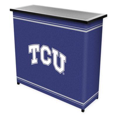 NCAA TCU Portable Bar with Case