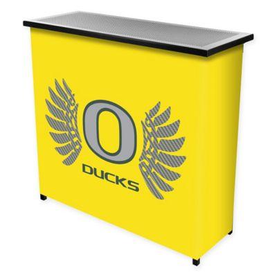 NCAA University of Oregon Portable Bar with Case