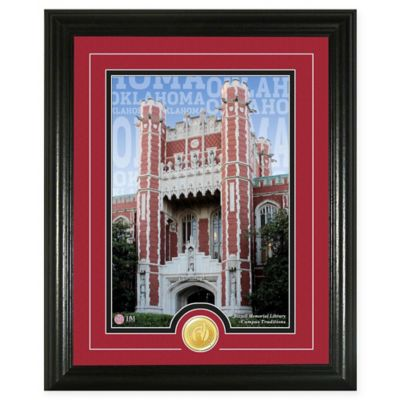 """University of Oklahoma """"Campus Traditions"""" Bronze Coin Photo Mint"""
