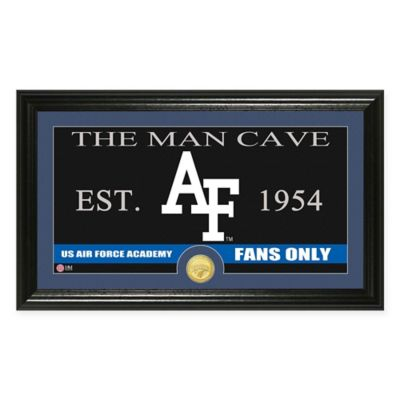 """Air Force """"Man Cave"""" Bronze Coin Panoramic Photo Mint"""