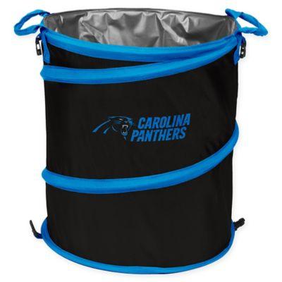 NFL Carolina Panthers Collapsible 3-in-1 Cooler/Hamper/Wastebasket