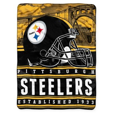 NFL Pittsburgh Steelers Silk Touch Throw Blanket by The Northwest