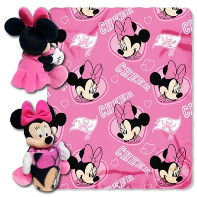 NFL Tampa Bay Buccaneers & Minnie Hugger and Throw Blanket Set by The Northwest