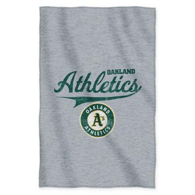 MLB Oakland Athletics Sweatshirt Throw Blanket by The Northwest