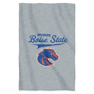 Boise State Sweatshirt Throw Blanket by The Northwest