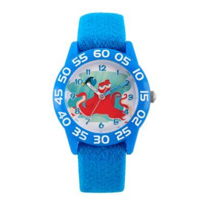 Disney® Finding Dory Children's Hank Time Teacher Watch in Blue Plastic w/Blue Nylon Strap