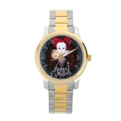 Disney® Alice in Wonderland Ladies' 38mm Red Queen Watch in Two-Tone Stainless Steel