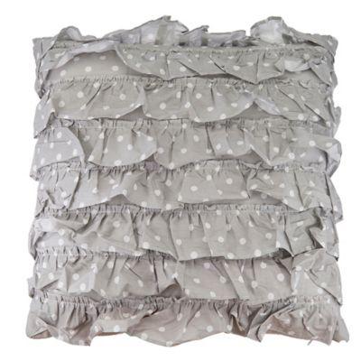 Decorative Ruffle Pillow