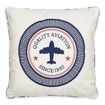 Levtex Home Oliver Aviation Square Throw Pillow