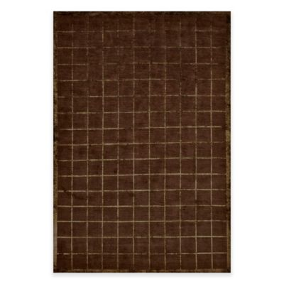Feizy Chadwick 5-Foot 6-Inch x 8-Foot 6-Inch Area Rug in Chocolate