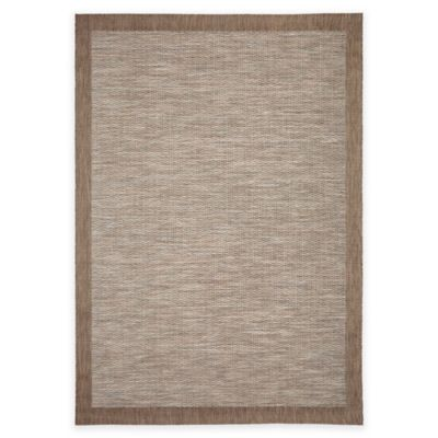 Orian Breeze Collection 7-Foot 7-Inch x 10-Foot 10-Inch Admiral Sky Area Rug in Arctic Blue