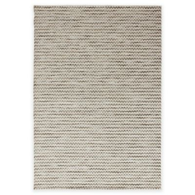 Orian Breeze Collection 7-Foot 7-Inch x 10-Foot 10-Inch Lapis Area Rug in Arctic Ivory