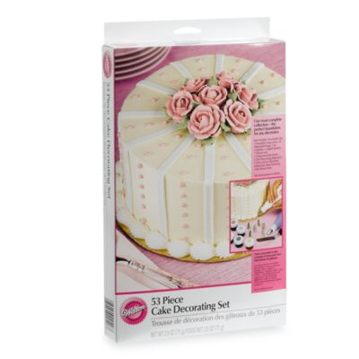 Wilton Complete Cake Decorating Kit : Buy Wilton  53-Piece Cake Decorating Set from Bed Bath ...