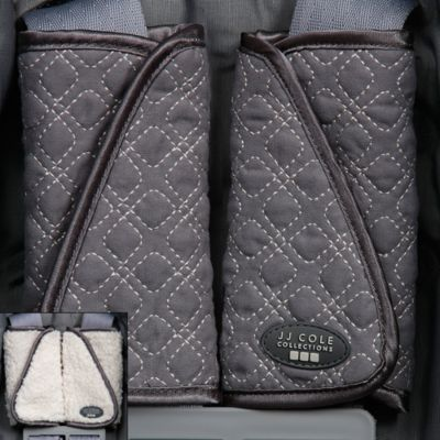 JJ Cole® Reversible Strap Covers in Graphite