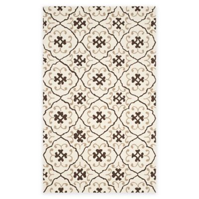 Grey/Ivory Outdoor Rugs