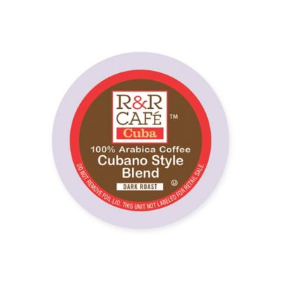 32-Count R&R Café Cuba Cubano Style Blend Coffee Pods for Single Serve Coffee Makers