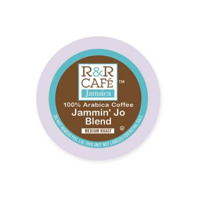32-Count R&R Café Jamaica Jammin' Jo Blend Coffee Pods for Single Serve Coffee Makers