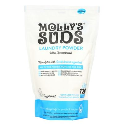 Molly's Suds™ 120-Load Concentrated Laundry Powder with Peppermint Essential Oil
