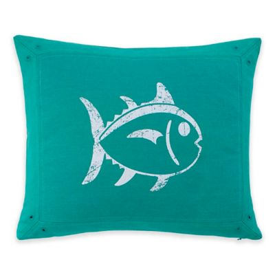 Southern Tide® Prep Plaid Skipjack Oblong Throw Pillow in Peacock