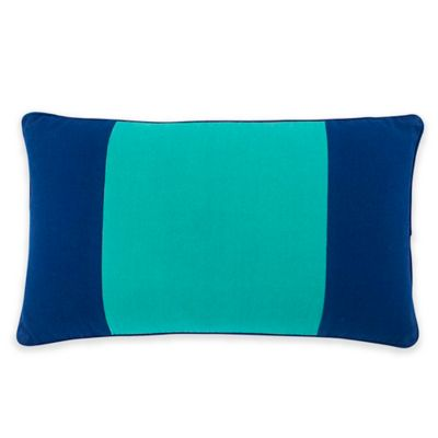 Southern Tide® Prep Plaid Color Block Oblong Throw Pillow in Blue/Green