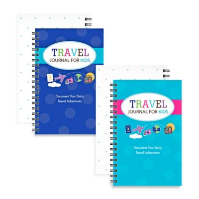Kahootie Co® Travel Journal for Kids in Turquoise