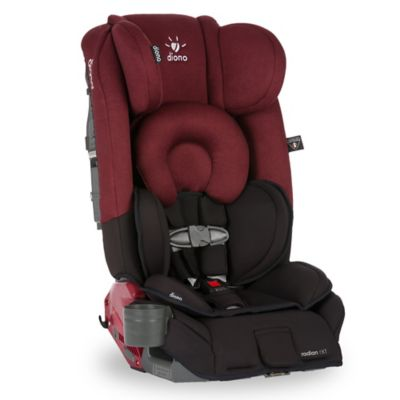 Diono™ Radian® RXT Convertible Car Seat and Booster in Black Scarlet