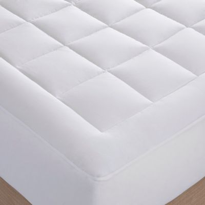 Sleep Philosophy™ Luxury Collection™ 1000-Thread-Count Cotton King Mattress Pad in White