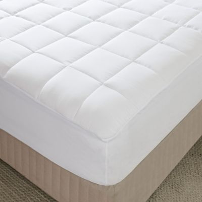 Comfort Classics® Highline 3M Microfiber Cal King Mattress Pad in White