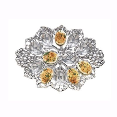 Arthur Court Designs Grape 12 Deviled Egg Tray