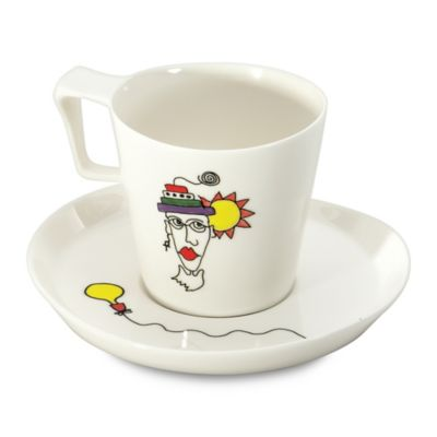 BergHOFF® Eclipse Codriez Breakfast Cups and Saucers (Set of 2)