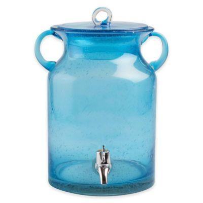 tag Vintage 1.7 Gallon Beverage Dispenser in Aqua