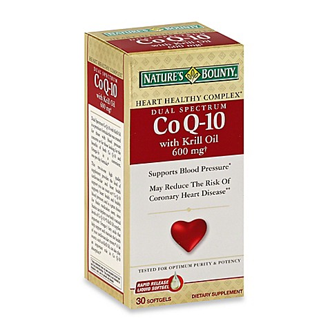 Coq Dose Nature S Bounty Review Mg