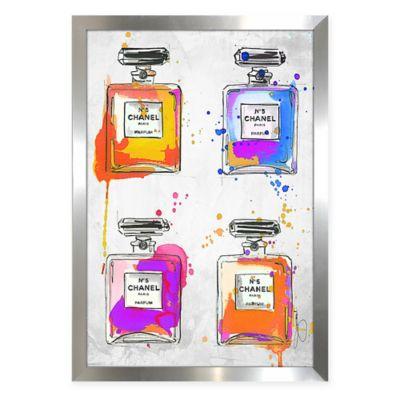 BY Jodi Chanel Color Splash Framed Wall Art