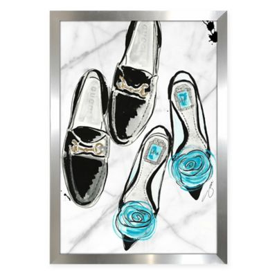 BY Jodi Perfect Pair Framed Fashion Wall Art
