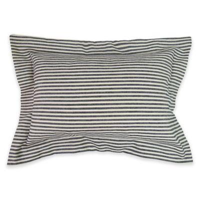 Park B. Smith® The Vintage House Farm House Oblong Throw Pillow in Black