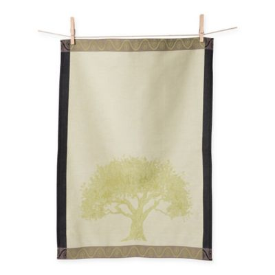 European Jacquard Tree Kitchen Towels (Set of 2)