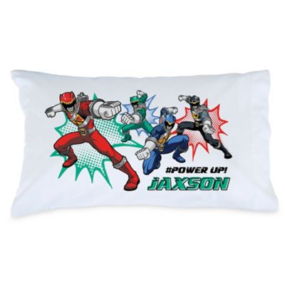 Power Rangers Dino Charge #Power Up! Pillowcase